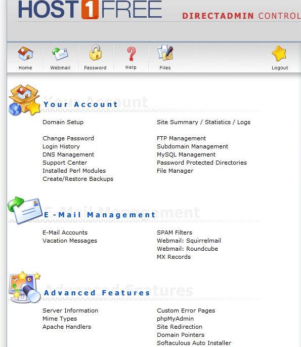 web-control-panel